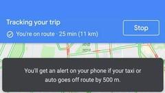 Google Maps : une option pour vous avertir si votre taxi vous arnaque