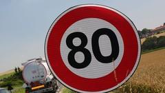 80 km/h : 90 % des Français souhaitent l'abandon de la mesure