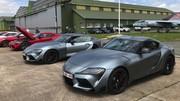 Essai Toyota Supra : au volant de la sportive sur le grand circuit des 24 heures du Mans