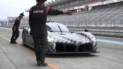 La future hypercar Toyota déjà à l'essai