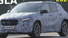 Le futur Mercedes GLA prend la lumière