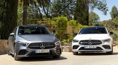 Essai : La Mercedes Classe A Berline défie la Mercedes CLA Coupé