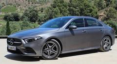 Essai Mercedes Classe A berline : première A coffre