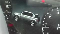Nouveau Land Rover Defender : un aperçu de sa silhouette