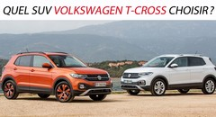 Quel SUV Volkswagen T-Cross choisir ?