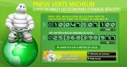 Ça roule pour les ''pneus verts'' de Michelin