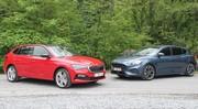 Essai Ford Focus vs Skoda Scala : prête pour le front, la Golf tchèque ?