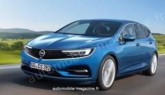 Future Opel Astra : Une base de Peugeot 308 dès 2021