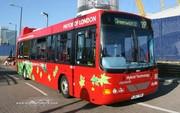 Le bus hybride anglais en progrès