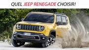 Quel Jeep Renegade choisir ?