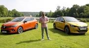 Nouvelle Peugeot 208 vs Renault Clio 5 : 1er duel en VIDEO
