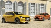 Peugeot 208 2 vs Renault Clio 5 premier duel pour les stars françaises