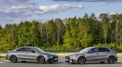 Mercedes-AMG dévoile ses nouvelles CLA et A 45