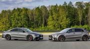 Mercedes Classe A et CLA : voici les 45 AMG S avec 421 ch