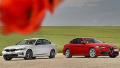 Essai Alfa Giulia vs BMW 320d : passé recomposé