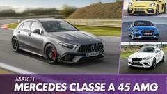 La Mercedes Classe A 45 AMG face à ses rivales