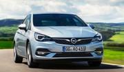 Opel Astra restylée : baisse des émissions