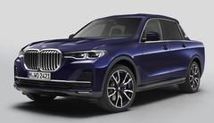 BMW X7 pick-up : du luxe à l'utilitaire !