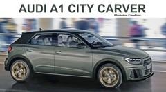 Audi prépare une A1 Allroad pour 2020