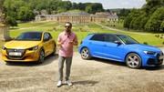 Nouvelle Peugeot 208 vs Audi A1 : 1er duel en vidéo