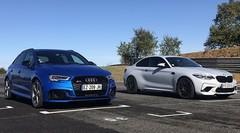 Match Audi RS3 vs BMW M2 Competition : leurs remplaçantes ne feront pas mieux