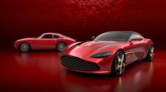 La calandre de cette Aston Martin DBS GT Zagato peut vous manger