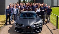 """Bugatti livre sa 200e Chiron, une Chiron Sport """"110 ans Bugatti"""""""