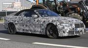 Future BMW M4 : Premières photos de la version cabriolet