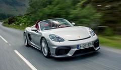 Essai Porsche 718 Spyder et GT4 420 ch : Prenez le manche !