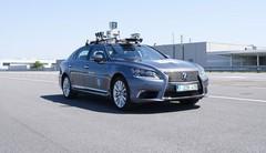 Une Lexus autonome à Bruxelles