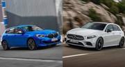 Premier match : Nouvelle BMW Série 1 vs Mercedes Classe A