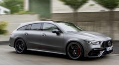 Mercedes-AMG CLA 45 S Shooting Brake : Troisième salve