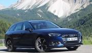 Essai Audi A4 restylée (2019) : la poursuivante revient dans la course
