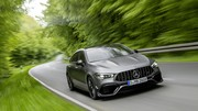 La nouvelle Mercedes-AMG CLA 45s Shooting Brake fait son apparition