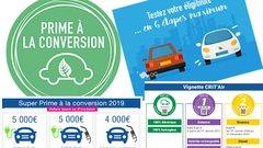 Prime à la conversion 2019 : elle change au 1er août