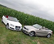 Essai Audi A3 Cabriolet 2.0 TFSI vs BMW 125i Cabriolet : Plaisir découvert