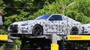 Le nouveau coupé BMW Série 4 posé sur un camion