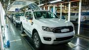 Ford augmente la cadence de production du Ranger pour l'Europe