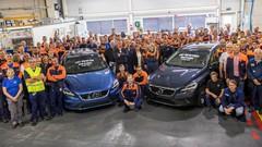 La dernière Volvo V40 est sortie de son usine de production