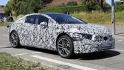 Premières images de la future berline électrique Mercedes EQS