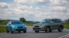 Subaru XV e-Boxer et Forester e-Boxer bientôt en France