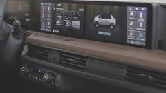 Digital en pleine largeur pour le tableau de bord de la Honda e