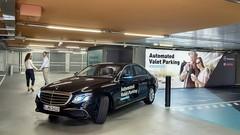 Grâce à Bosch, la Mercedes va se garer toute seule