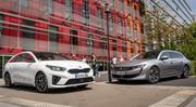 Essai comparatif : la Kia ProCeed défie la Peugeot 508 SW