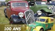 Revivez le centenaire de Citroën à la Ferté Vidame !