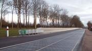 La route solaire ne rayonne pas