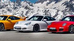 Evènement : Vingt ans de Porsche 911 GT3 !
