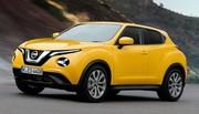 Le futur Nissan Juke 2020 en approche