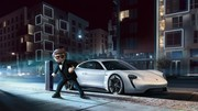 La Porsche Mission E star du film Playmobil
