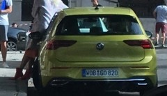 La Volkswagen Golf 8 surprise sans camouflage